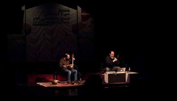 دو نوازی بعلاوه یک – دودوک و کمانچه در چهارمین شب جشنواره موسیقی فجر 1