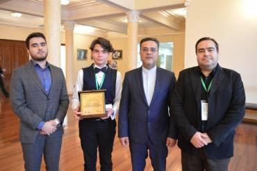 نوجوان ایرانی در بخش پیانو مقام نخست را کسب کرد 1
