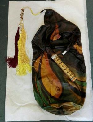 نی انبان اهدایی محسن شریفیان در موزه بروکسل رونمایی شد 1