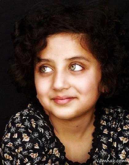 زیباترین دختر افغانستان بازیباترین چشم های جهان 1