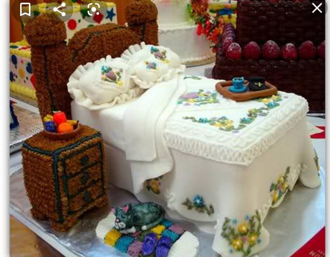 تصاویر دیدنی از عجیب ترین کیک ها 1