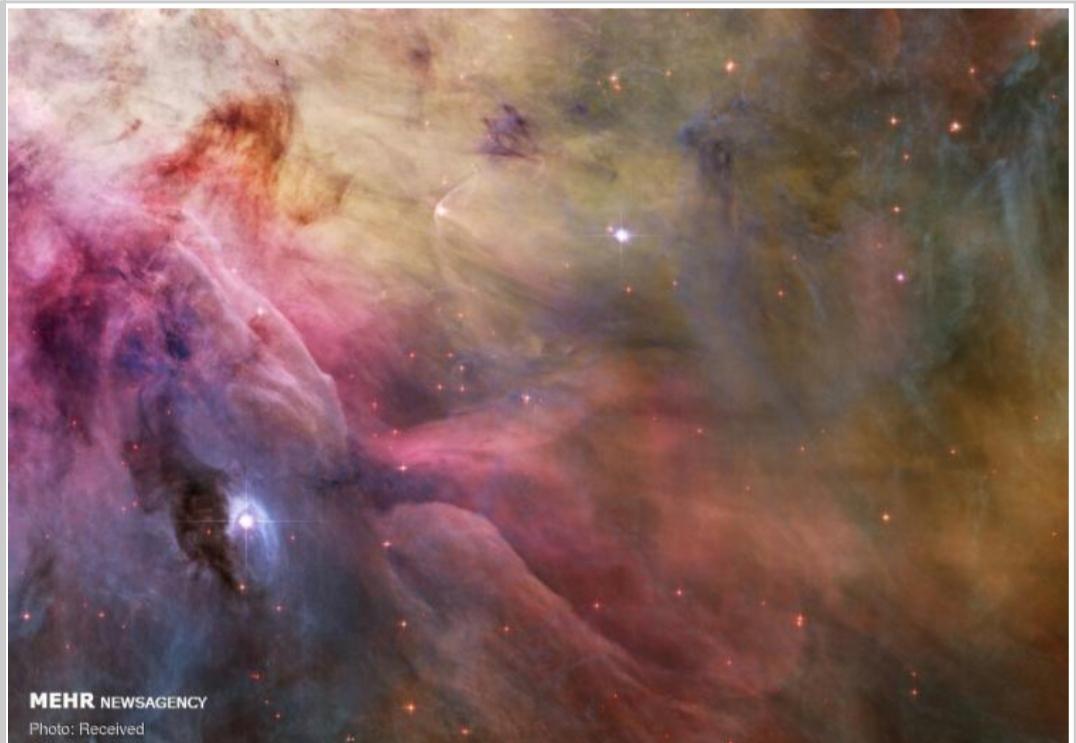 تصاویر دیدنی از فضا 1