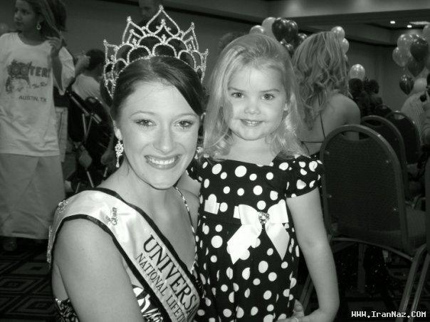 عکسهای دیدنی از دختری که ملکه زیبایی کودکان شد! 1