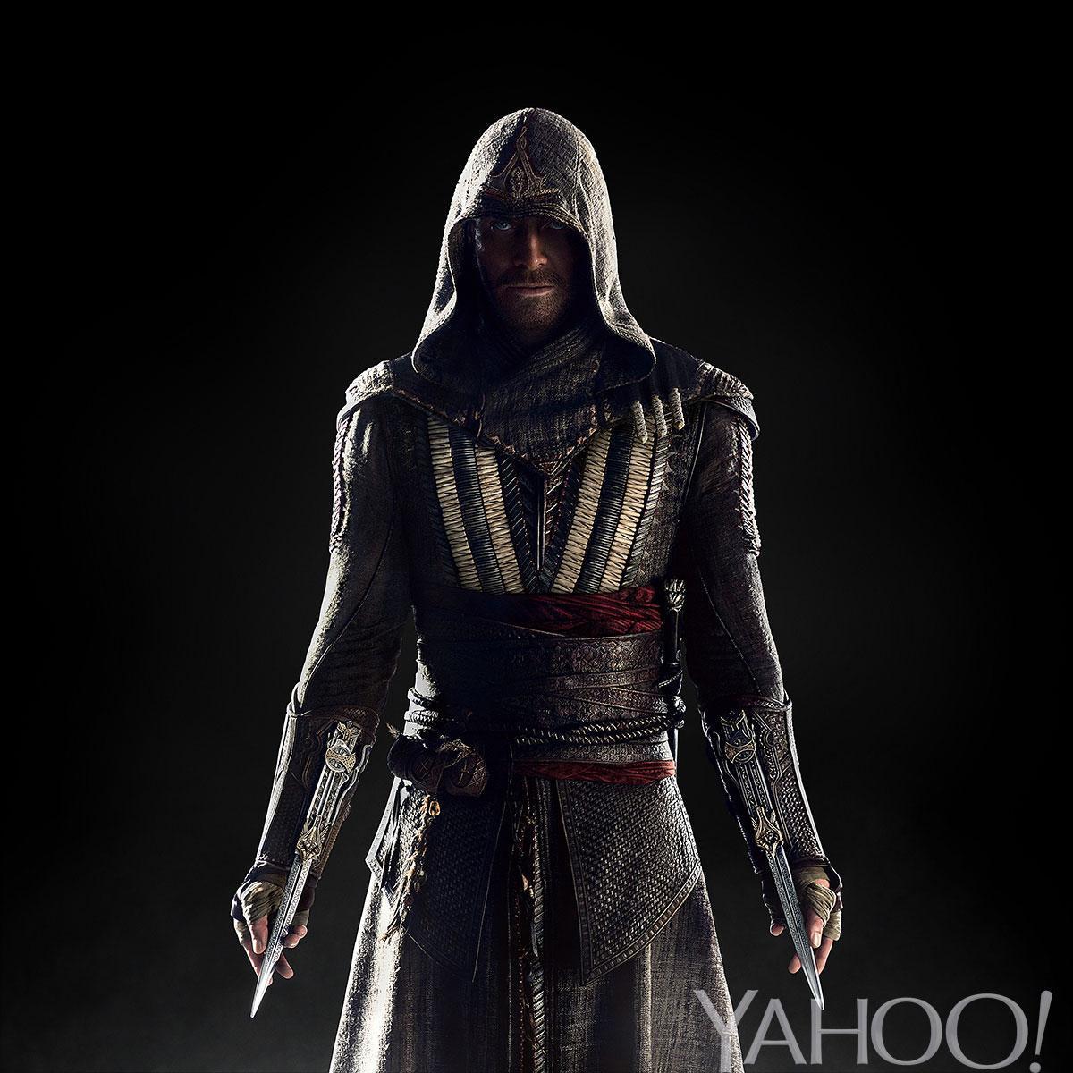انتشار عکس مایکل فاسبندر به عنوان یک کشیش قاتل در فیلم Assassins creed