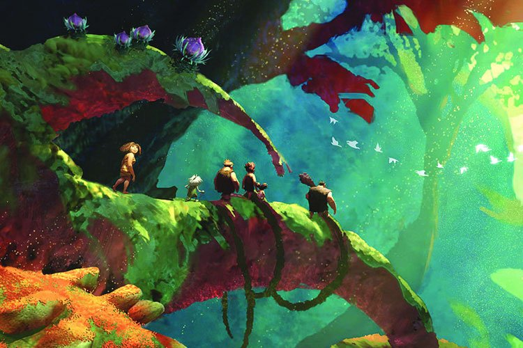 اولین تریلر انیمیشن The Croods: A New Age منتشر شد 1
