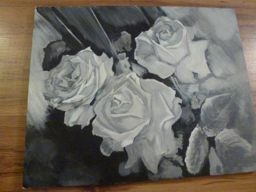 تابلو نقاشی های خودم .. سبک : gerisuri ( بیابن تو نظر بدین ) 1