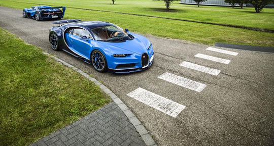 فروش دو خودروی منحصر به فرد بوگاتی به یک شاهزاده عرب 1