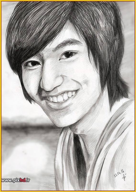 عکس عکس نقاشی لی مین هو | عکس تلگرام عکس جدید