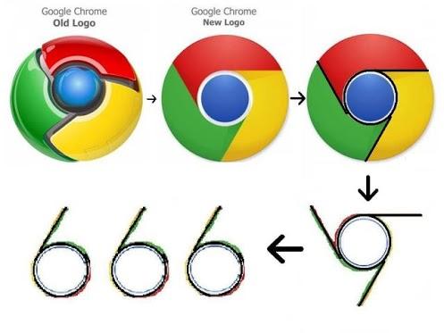 !!!!مهم:گوگل کروم،نماد شیطان پرستی !!!!! 1