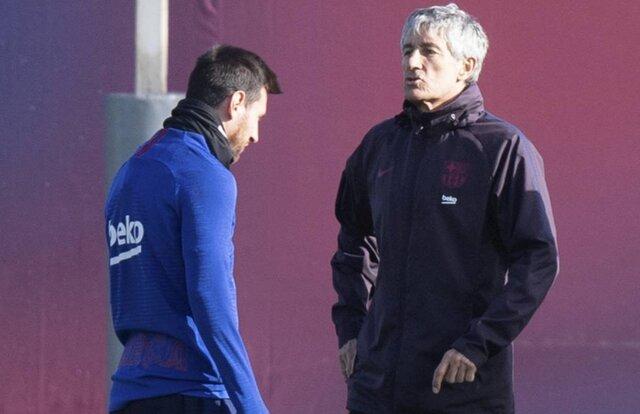 واکنش سرمربی بارسلونا به اظهارات بحث برانگیز مسی 1
