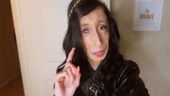 سلفی های زشت ترین زن جهان!!!!! 1