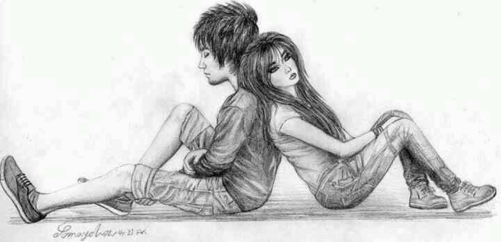 نقاشی سیاه سفید عاشقانه عکس سیاه سفید عکس جدید