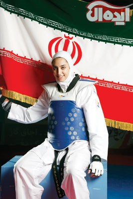 عکسایه قهرمان های ایرانی تکواندو 1