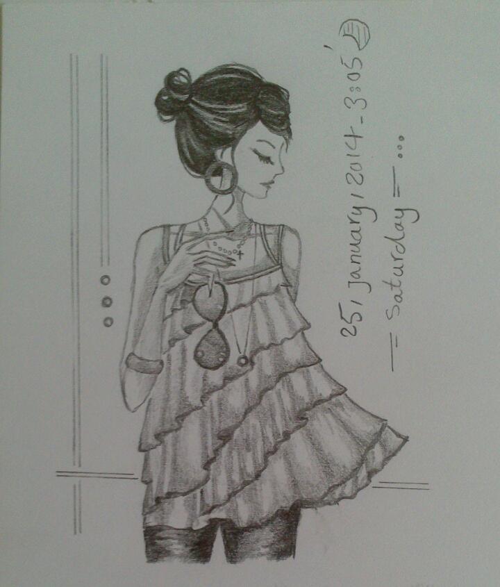 """عکس دفتر نقاشی کاترینا تو تنهایی""""اش.. ^___^ - پارک انیمه عکس جدید"""