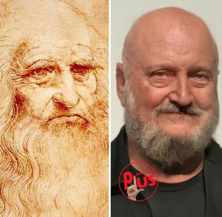 شبیه سازی چهره ی افراد قدیمی مشهور 1
