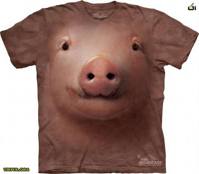 ***نقاشی های سه بعدی حیوانات بر روی لباس*0_0خیلی جالبه 1