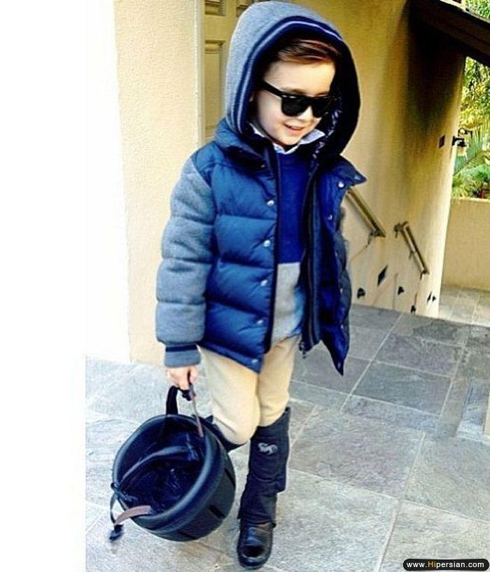 خوشـــتیپ 5 ساله ایتالیـــایی !!!(کم سن ترین مدل دنیا) 1