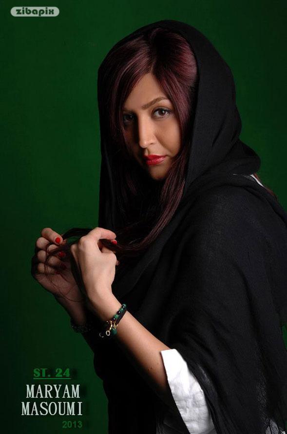 عکس عکس عکس های جدید مریم معصومی   بیوگرا عکس جدید