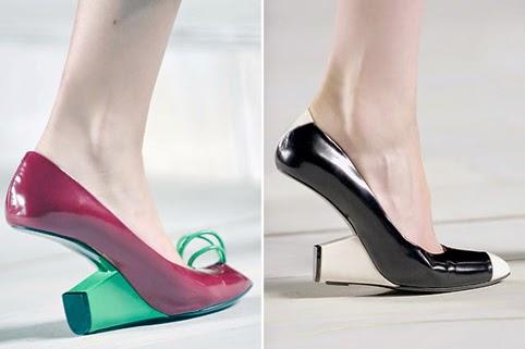 عجیب ترین کفش های پاشنه بلند!!! 1