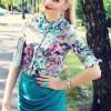 عکس لباس گل گلی دخترانه عکس جدید