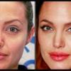 عکس های بازیگران زن معروف هالیوود قبل و بعد آرایش عکس جدید