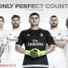 ستارگان فوتبال - رونمایی رسمی از پیراهن های اصلی رئال مادرید در فصل آینده + عکس عکس جدید