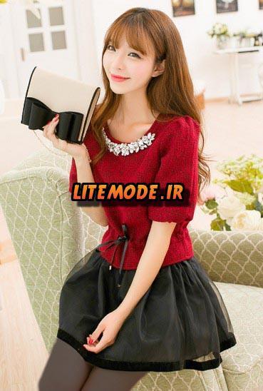 مدل لباس کره ای دخترانه.جدید 2015. 1